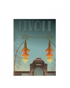 Vissevasse Plakat 30x40 cm, Tivoli Indgangen