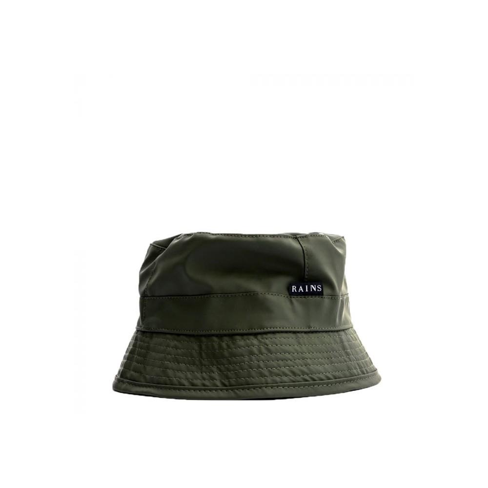 rains regntøj – Rains hat, bucket, grøn - størrelse - s fra superlove