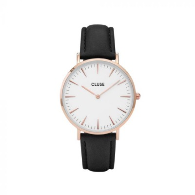 Cluse Ur, La Bohéme Rose Gold, Hvid/Sort
