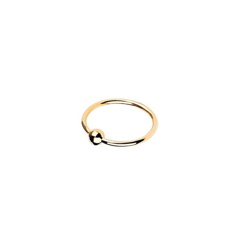 Maria black ring, helix, guld - størrelse - 54 fra maria black på superlove