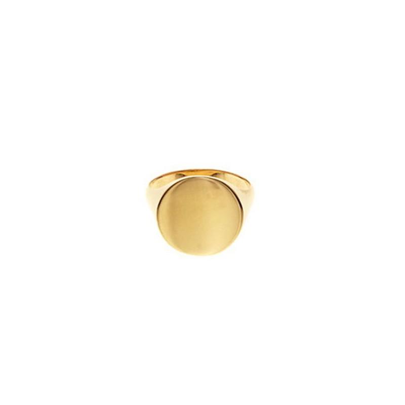 Maria black ring, ready heart, guld - størrelse - 56 fra maria black på superlove