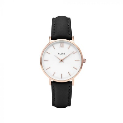 Cluse Ur, Minuit Rose Gold, Hvid/Sort