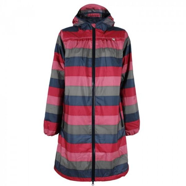 danefæ Danefæ regnfrakke, helen, rosa/grå/blå - størrelse - xl fra superlove