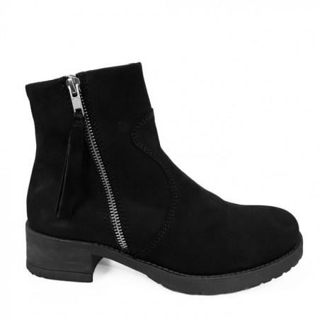 LBDK Støvler 5163 med for, Sort