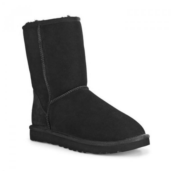 ugg Ugg støvler, classic short, black fra superlove