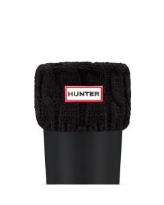 Hunter Sokker, Stitch Cable Short, Sort