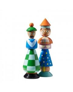 Superliving Træfigurer, Odd Couple, Blå