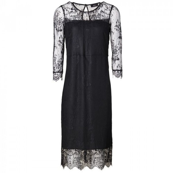 modström – Modström kjole, peggy, sort - størrelse - s på superlove