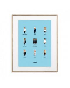 Image Republic Plakat 30 x 40, Le Duo, Designers 2