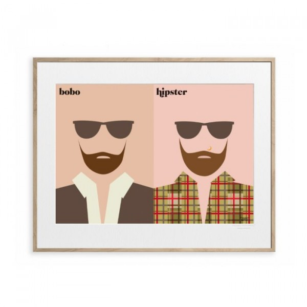 Image republic plakat 40 x 50, vahram mauratyan, le barbe fra image republic fra superlove