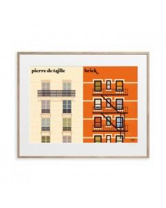 Image Republic Plakat 40 x 50, Vahram Mauratyan, La Facade
