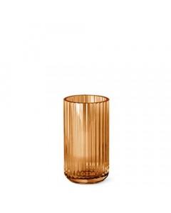 Lyngby Vase, 15 cm, Amber