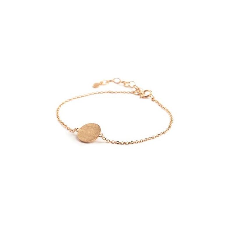 Pernille corydon armbånd, small coin, guld fra pernille corydon fra superlove