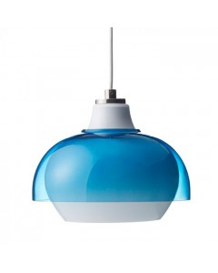 Superliving Lampe, Dual Glass, Capri Blue