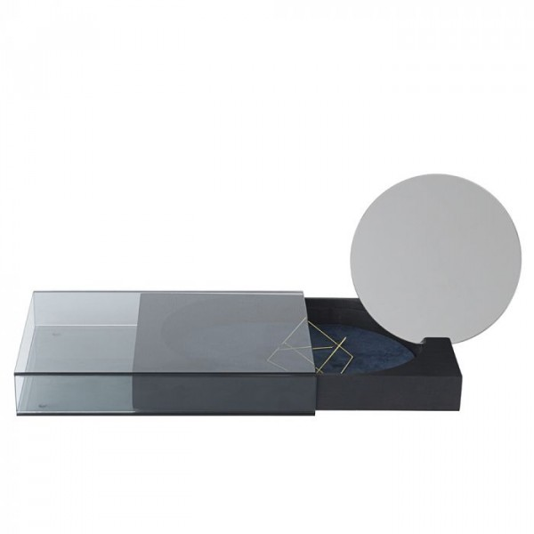 nomess copenhagen Nomess copenhagen, matchbox large m/spejl, sort på superlove