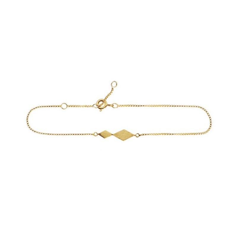 Image of   Scherning Armbånd, Diamond, Guld