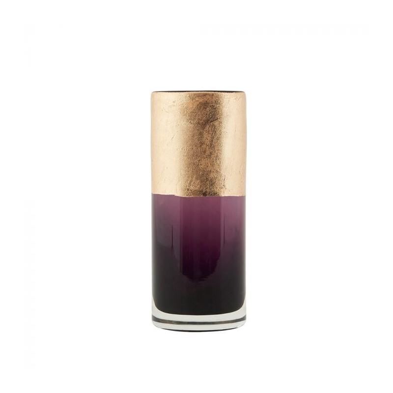 house doctor House doctor vase, lost 15,5, lilla/guld fra superlove