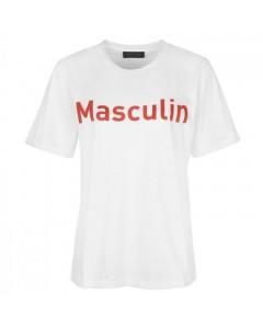 Storm & Marie T-shirt, Mascu, Hvid