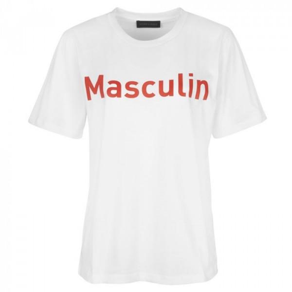Image of   Storm & Marie T-shirt, Mascu, Hvid