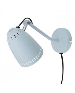 Superliving Væglampe, Mat Dynamo 345, Lys Blå