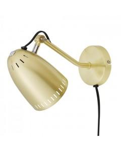 Superliving Væglampe, Dynamo 345, Brushed Brass