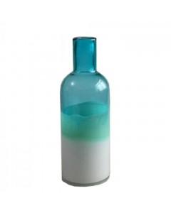 Athezza Vase, Carafe, Blå/Hvid