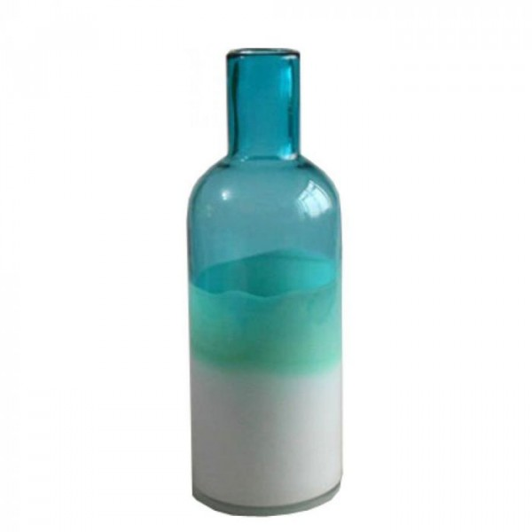 Image of   Athezza Vase, Carafe, Blå/Hvid