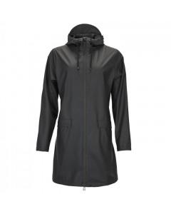 Rains Regnjakke, W Coat, Sort