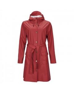 Rains Regnjakke, Curve, Scarlet