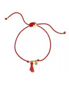 Stine A Armbånd, Lucky Bracelet, Rød