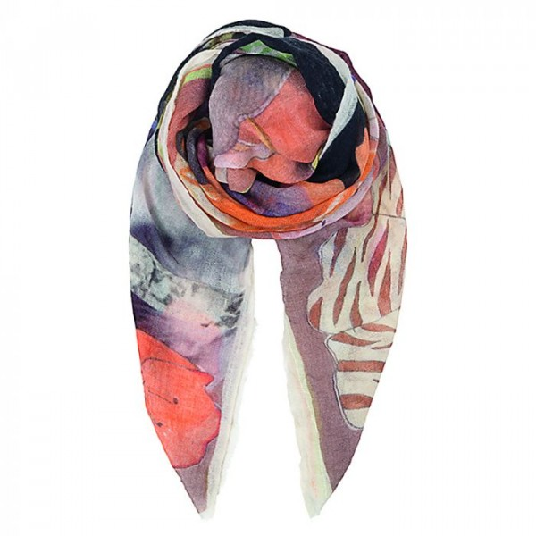 Beck söndergaard tørklæde i uld, tennie, multi fra beck söndergaard på superlove