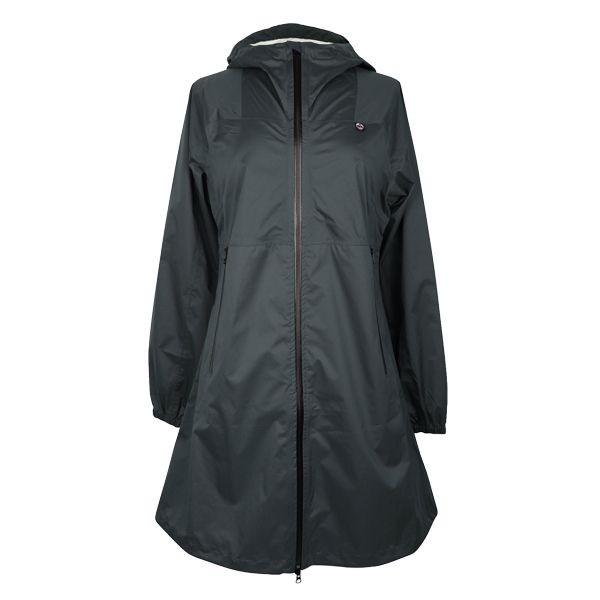 danefæ – Danefæ regnfrakke, vesterhav, mørkegrå - størrelse - l på superlove