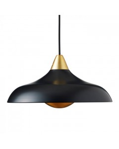 Superliving Lampe, Urban Wide, Mat Real Black