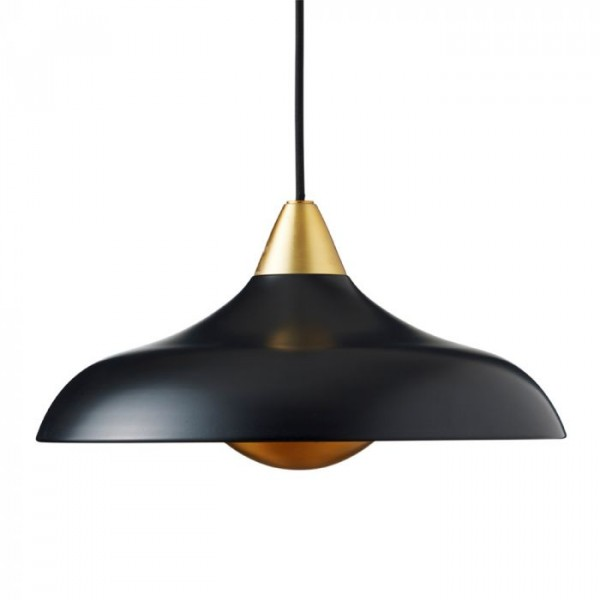 Image of   Superliving Lampe, Urban Wide, Mat Real Black