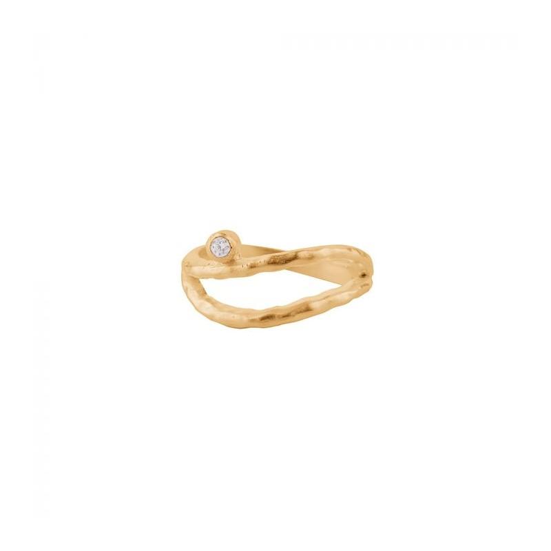 Pernille corydon ring, bay, guld - størrelse - 55 fra pernille corydon fra superlove