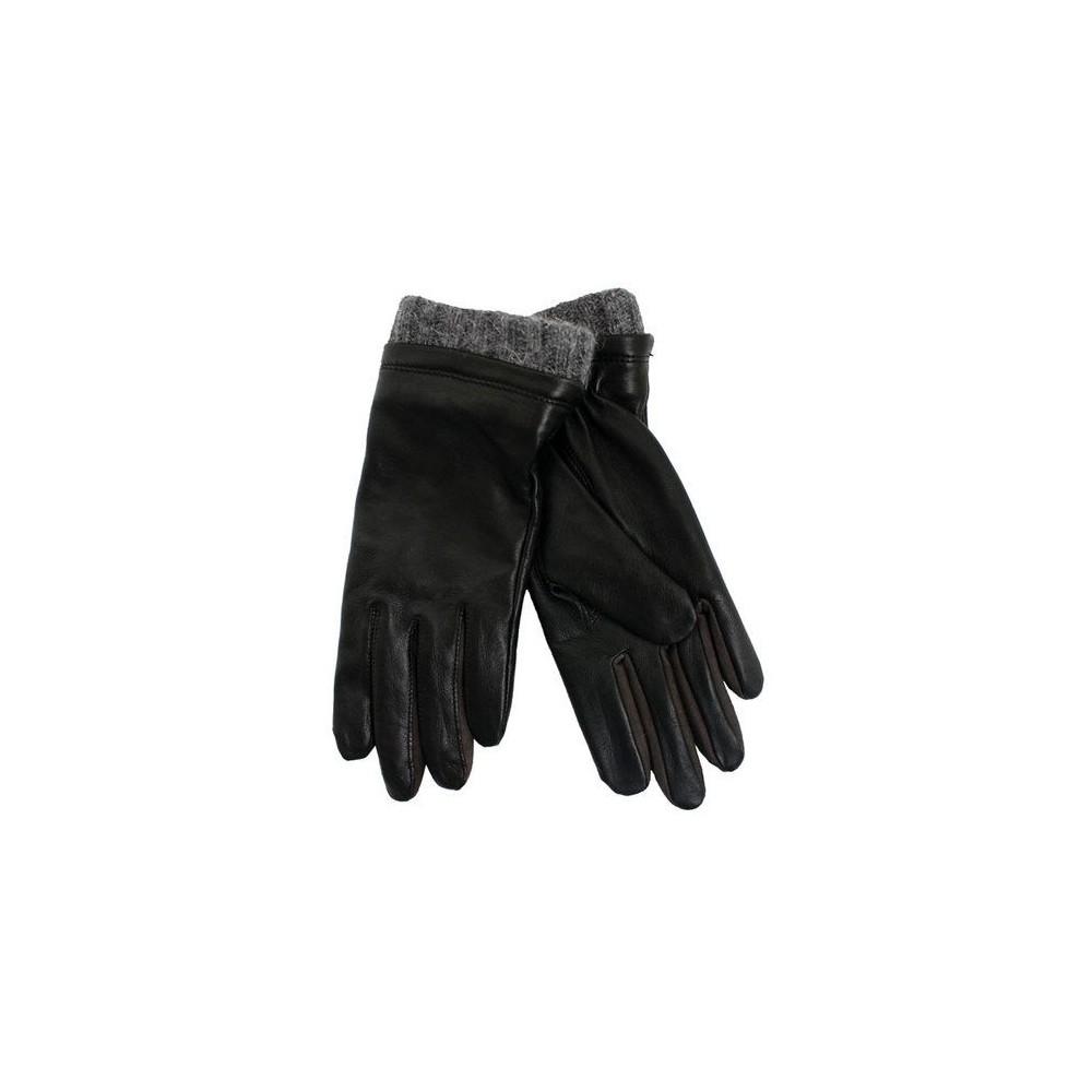 gaucho Gaucho skindhandsker, dessie, sort - størrelse - 7,5 fra superlove