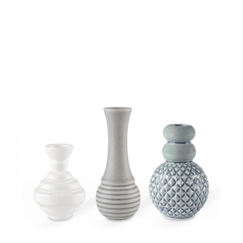 finnsdottir – Finnsdottir vaser, samsurium minibell, blå på superlove