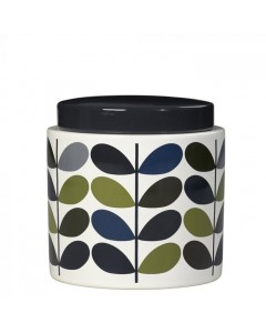 Orla Kiely Jar, Multi Stem, Green/Blue