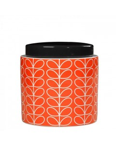 Orla Kiely Krukke, Linear Stem, Orange