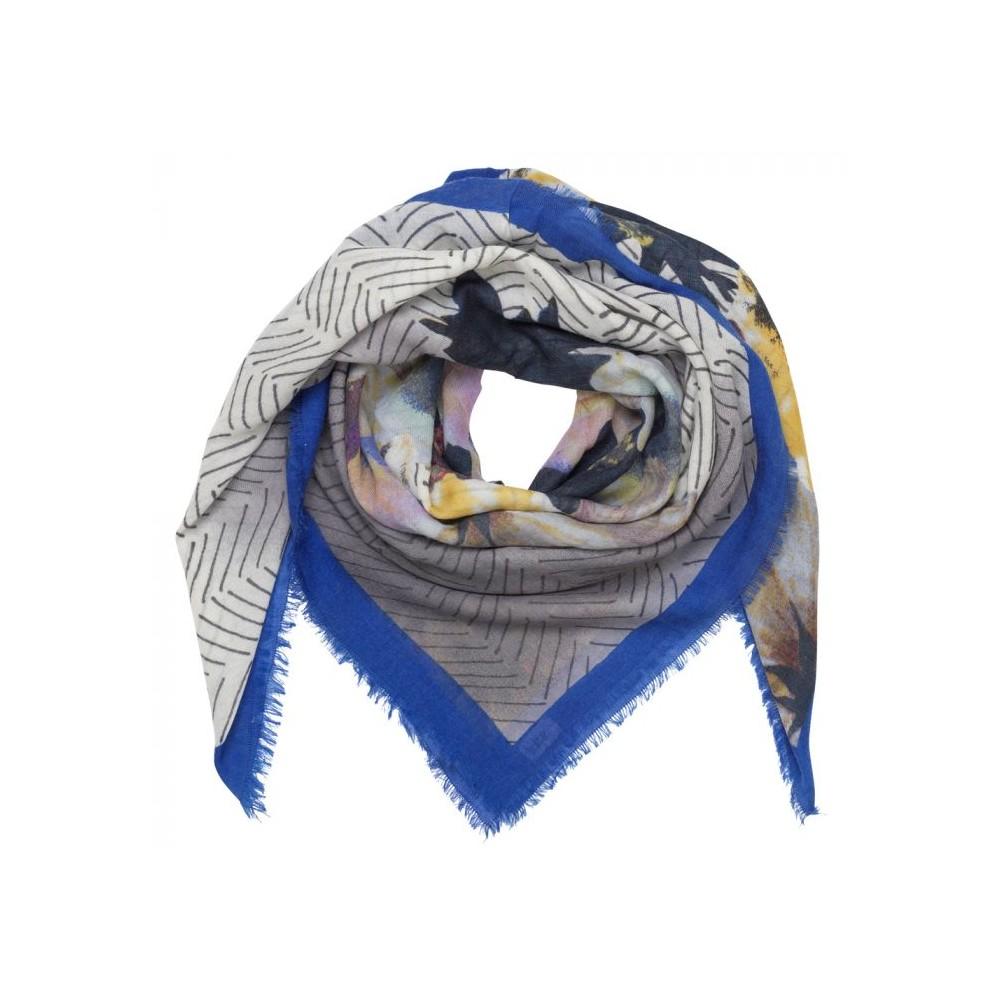 beck söndergaard Beck söndergaard tørklæde uld/kashmir, olina, blå på superlove