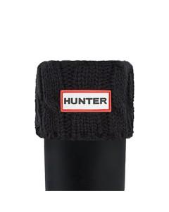 Hunter Sokker, Six-Stitch Cable, Sort