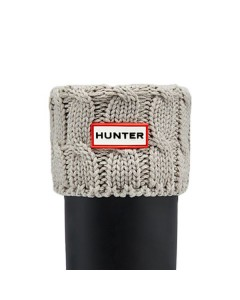 Hunter Sokker, Six-Stitch Cable, Grå