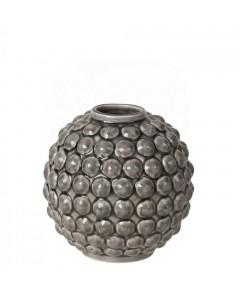 Broste Copenhagen Vase, Dotty h14, Grå