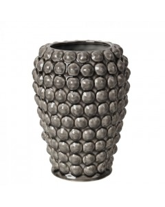 Broste Copenhagen Vase, Dotty h20, Grå