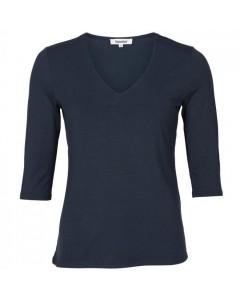 Blue On Blue Bluse, Vina, Navy
