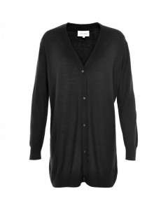 Six Ames Cardigan, Sawa, Sort