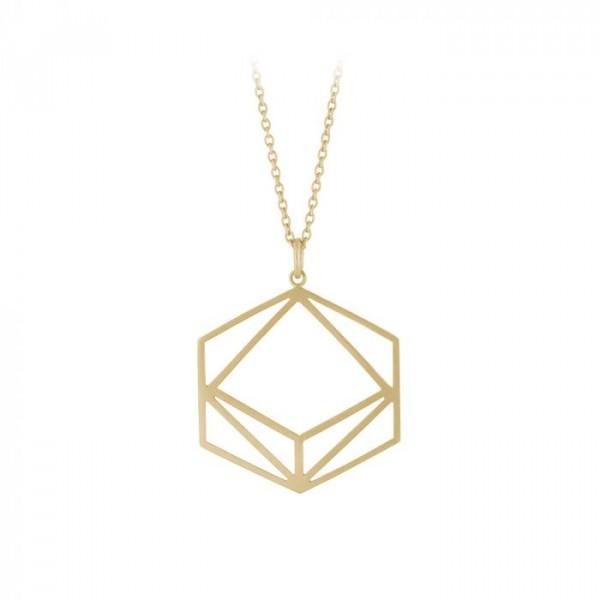 pernille corydon Pernille corydon halskæde, icon, guld på superlove