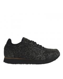 Woden Sneakers, Ydun Pearl, Sort/Sølv