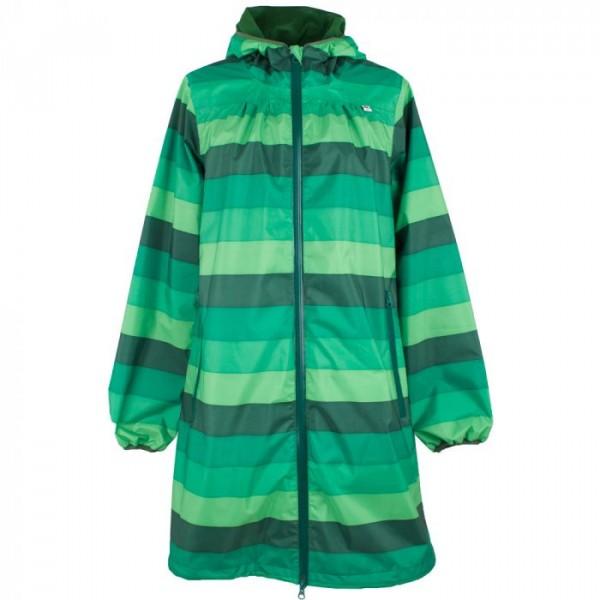 danefæ Danefæ regnfrakke, helen m/striber, grøn - størrelse - m fra superlove