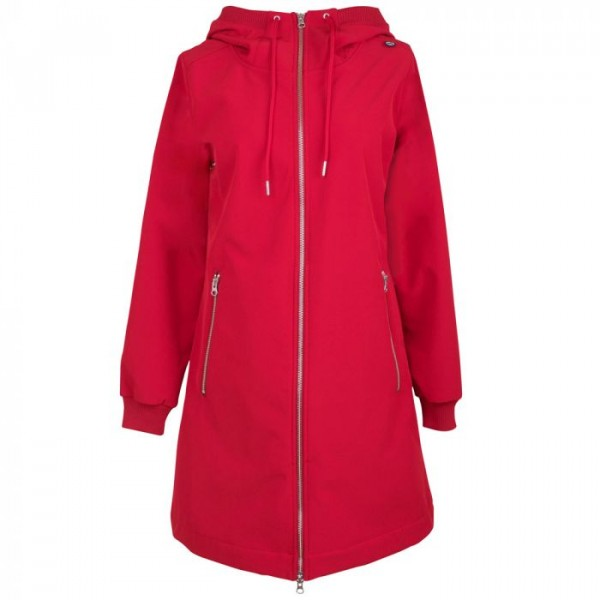 danefæ – Danefæ jakke, jane softshell, rød - størrelse - l fra superlove